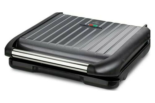 George Foreman Entertaining Grill Steel 25051. 7 portion