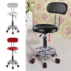 Beauty Spa Salon Stool Styling Gas Lift Hairdressing Barber Tattoo Massage Chair