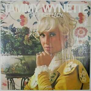 TAMMY-WYNETTE-The-First-Lady-LP-1970-COUNTRY-NM-NM