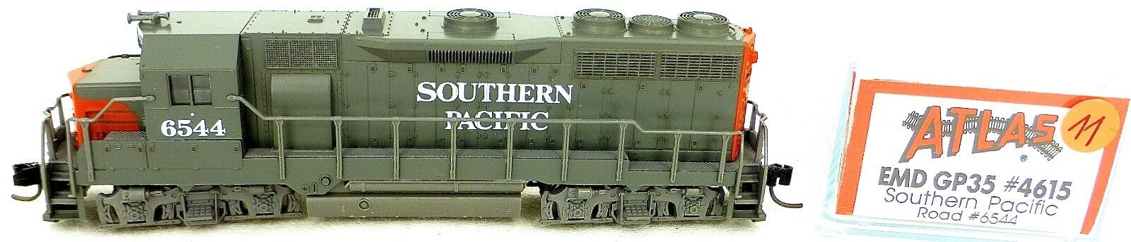 Atlas 4615 Kato EMD GP35 Southern Pacific 6544 Locomotive Diesel N 1 160 Ω11 Å