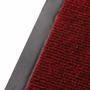 HEAVY DUTY NON SLIP RUBBER BARRIER MAT LARGE&SMALL RUGS BACK DOOR HALL KITCHEN