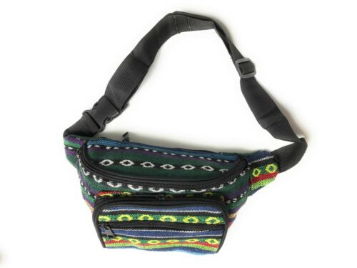 Nice Jacquard cotton Coco pattern bum bag waist bag Multi