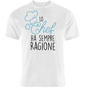Shirt In Chef Uomo Un Per T RagioneIdea Sempre Ha Cuoco Lo Regalo n8mwN0