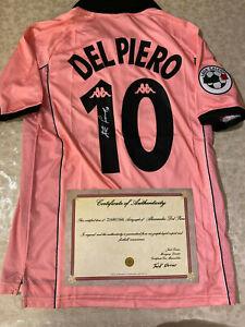 MAGLIA-DEL-PIERO-AUTOGRAFATA-JUVENTUS-LEGA-CALCIO-1997-1998-SIGNED-COA