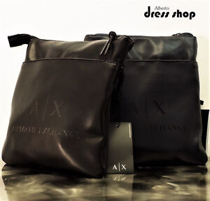 Image is loading Purse-Shoulder-Messenger-Bag-A-X-Armani-Exchange-Mens- 7cdec06b96