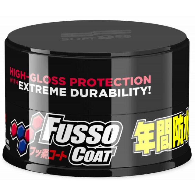 (EUR17, 45 / 100g) Soft99 Fusso Coat 12M Negro Sellador con Ptfe 200g
