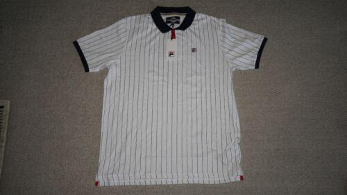 New Fila Retro Bjorn Borg M VINTAGE Settanta MK1 Polo Shirt Tennis Size M