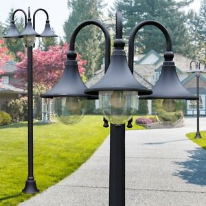 Lampadaire Lampe de terrasse Réverbère Lampe de jardin Lampe d ...