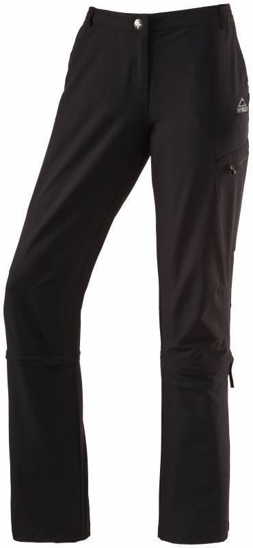McKinley Damen Trekking/Wanderhose Mendoran KG 257538-050 schwarz Gr.18-22 NEU