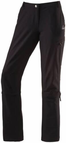 McKinley Damen Wander und Regenhose Carlow in schwarz 286005-050  NEU!!