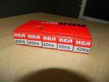 RCA 6DK6 8136 Vacuum Tube NOS in Box Pentode Extras SHIP FREE