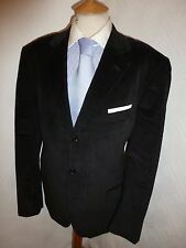 MENS O-Z OZWALD BOATENG BROWN CORD SUMMER PROM SUIT JACKET 42 R WAIST 34 LEG 33