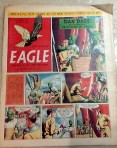 Classic-Eagle-Comic-Vol-6-No-4-Dan-Dare-Prisoners-of-Space-28th-January-1955