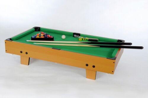 Zubehör Billardtisch Poolbillard Spielfläche 86 x 45 cm grün Mini Billard inkl