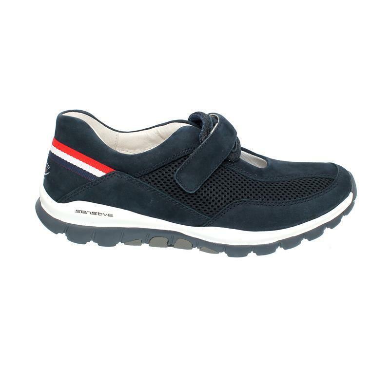 Gabor Rollingsoft Damen Schuhe komfort Wechselfußbett grau