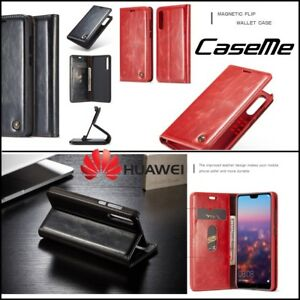Etui-Coque-Housse-Caseme-Cuir-PU-Leather-OilWax-Wallet-Case-Cover-Huawei-P20-Pro