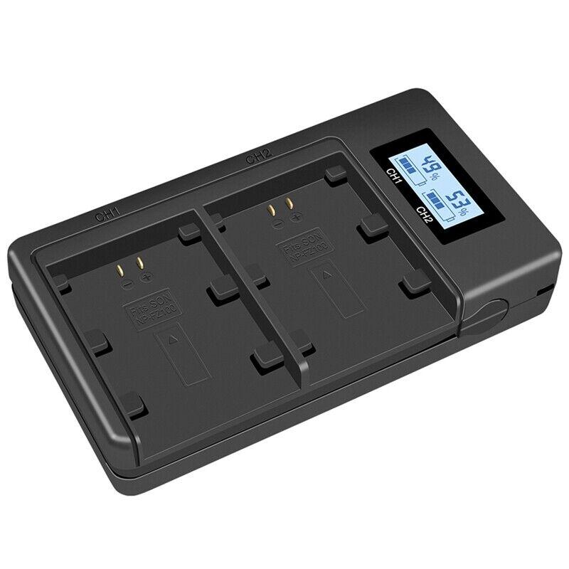 1X(Np-Fz100 Npfz100 Fz100 Battery Charger For Sony Alpha A9, Alpha A7R Iii, W2E