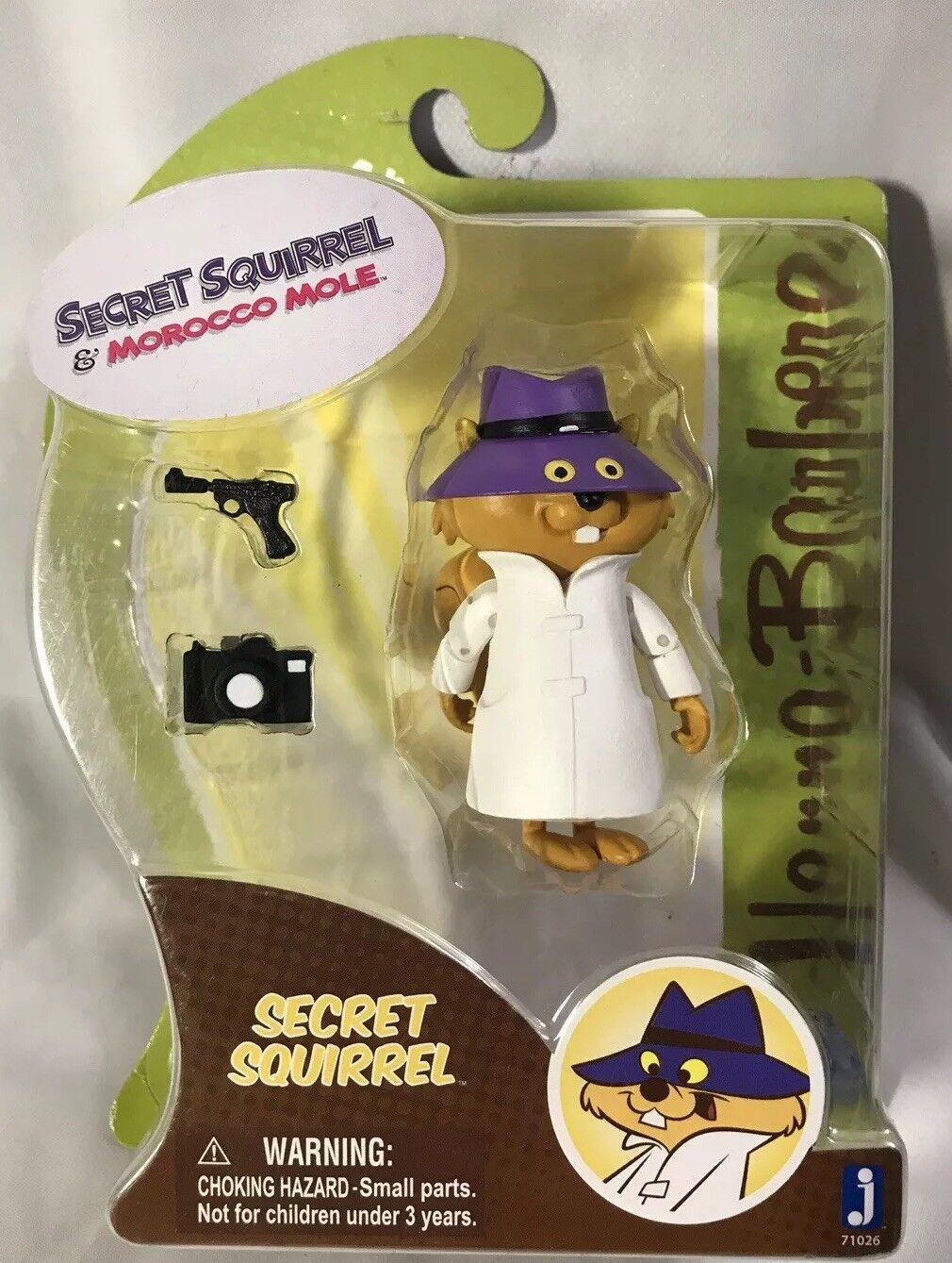 Hanna-Barbera Secret Squirrel & Mgoldcco Mole Secret Squirrel 3-Inch Figure
