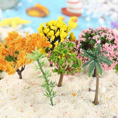 20pcs DIY Mini Tree Plants Miniature House Garden Dollhouse Fairy Ornament Plant