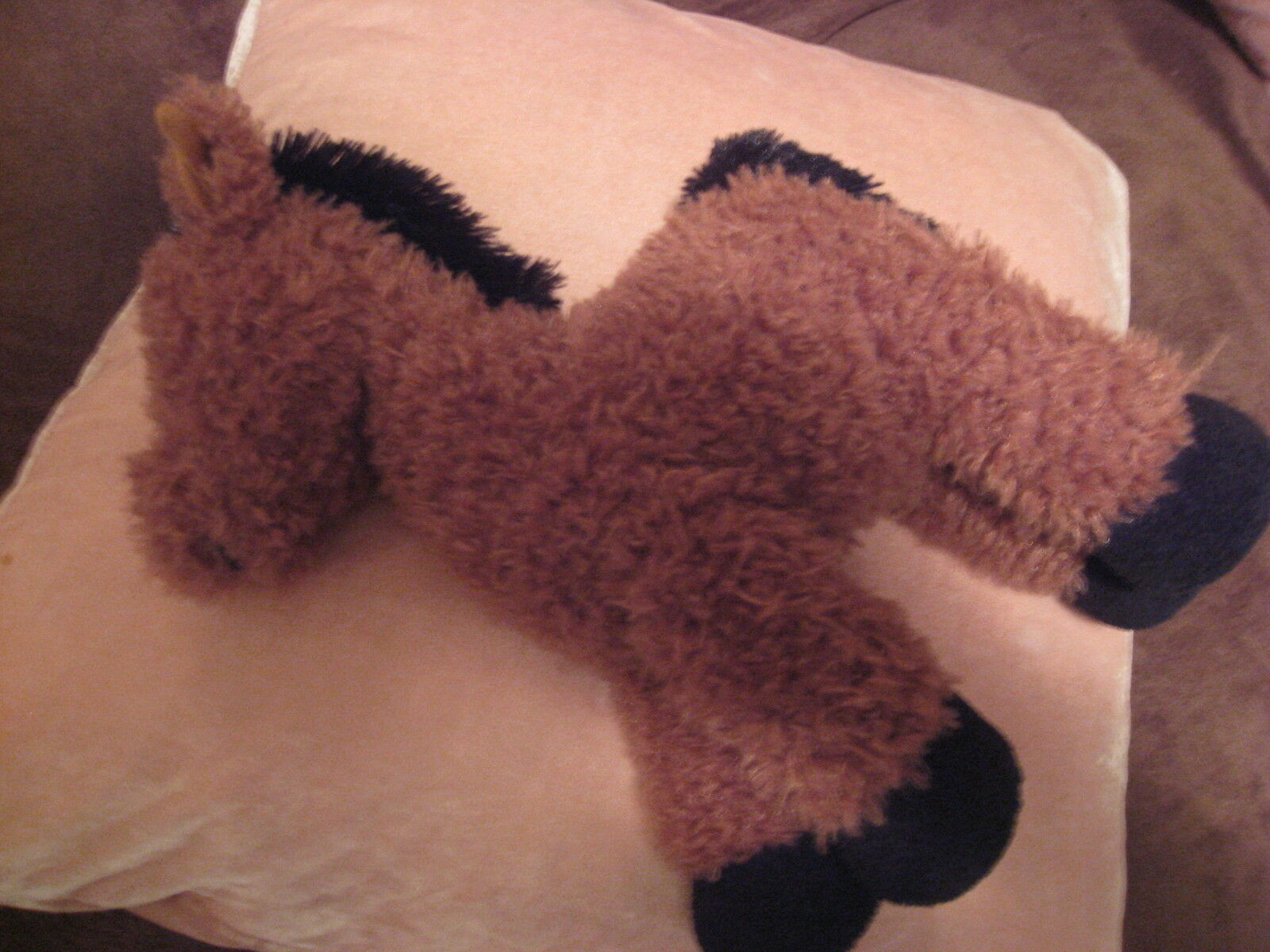 JELLYCAT LONDON RARE BROWN HORSE