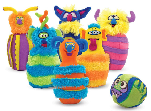 Melissa & Doug MONSTER BOWLING SOFT TOY/GAME Baby/Toddler/Child Gift Fun BN