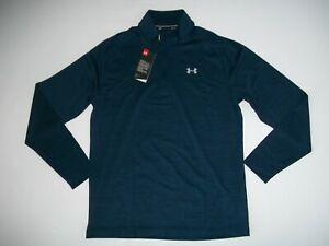 Under-Armour-Ua-Playoff-Azul-Raya-1-4-Cremallera-L-S-GOLF-Camiseta-Hombre-Ru