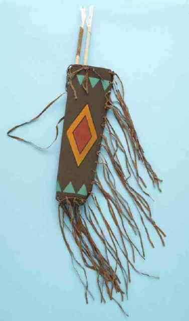 Indian Native American Quiver /& Arrows Set Kit Bag Toy Weapon Costume Accessory