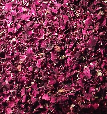 Rose Flower Petals 250g Sun Dried Edible Natural Gulab Soap Food Free Ship