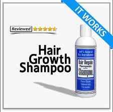 HAIR REGROWTH SHAMPOO - stop hair loss - start hair growth - 5 star reviews
