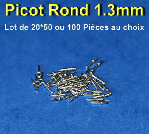 *** lot of 20*50 or 100 1.3mm round picot welding for ci ***
