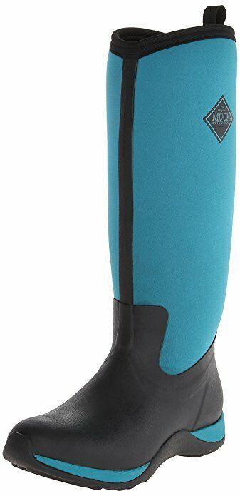 MuckBoots Women's Artic Adventure Snow Boot Harbor bluee Knee High Waterproof