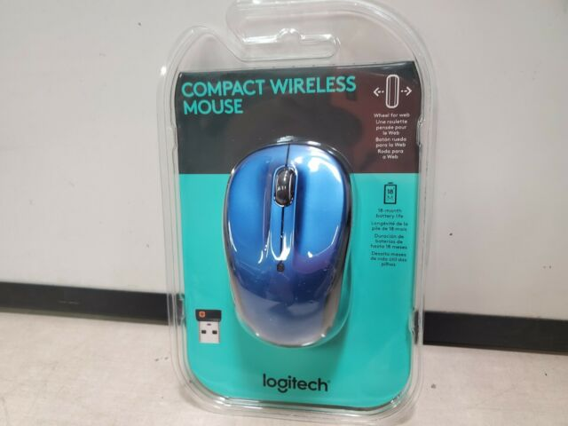 Logitech M325 Wireless Mouse - Blue - Brand New Sealed 18 month battery life