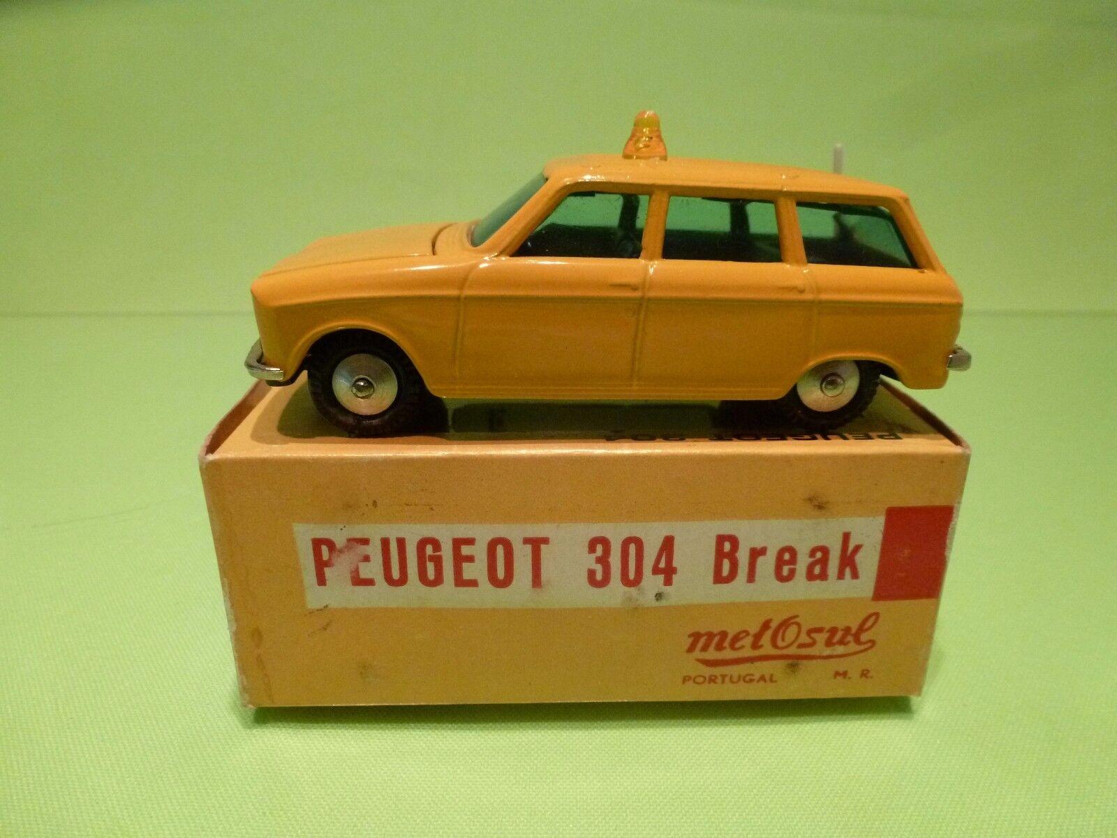 compras de moda online METOSUL PEUGEOT PEUGEOT PEUGEOT 304 BREAK - amarillo - EXCELLENT IN BOX  comprar barato