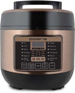 Мультиварка скороварка паровой котел для Polaris 900 Вт чаша 5 л тефлоновым покрытием
