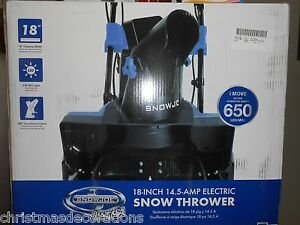 Snow-Joe-SJ619E-18-inch-14-5-Amp-Electric-Snow-Thrower-w-Light-NO-TAX