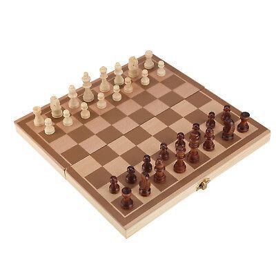 Folding wooden Chess High Quality Chess Set Folding 30cm X ...