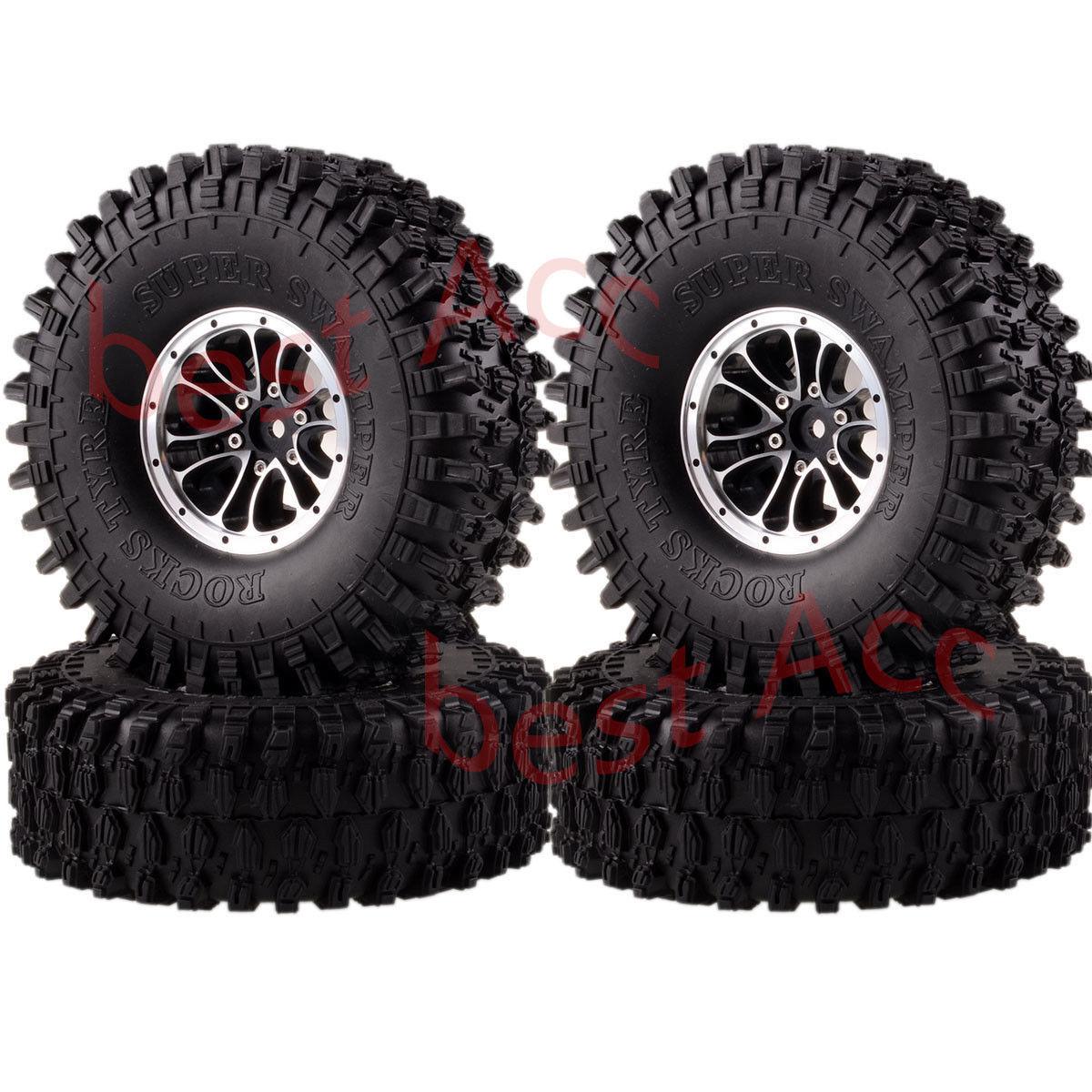 RC1 10 4P 1.9  1051-7037 Super Swamper Neumáticos Neumático Rock Crawler 120MM RUEDA LLANTA