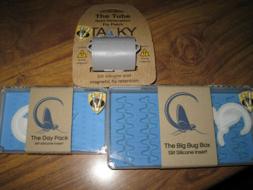 New Tacky Wet Dry /& Nymph Trout Fly Box Collection 5 Options
