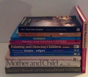 lot of 12 art instruction books painting techniques hardcover