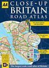 AA Close-up Britain Road Atlas by AA Publishing (Paperback, 2008)
