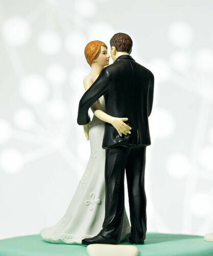 Main Squeeze Cheeky Couple Funny Wedding Cake Topper