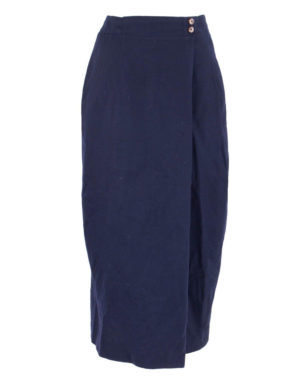 Dior Navy Skirt Size 12 Vintage