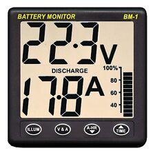 NASA Marine BM1 Clipper Battery Monitor Instrument 24 Volt