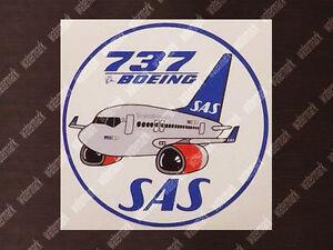SAS-SCANDINAVIAN-BOEING-B737-B-737-PUDGY-DECAL-STICKER-3-5-x-3-5-in-9-x-9-cm