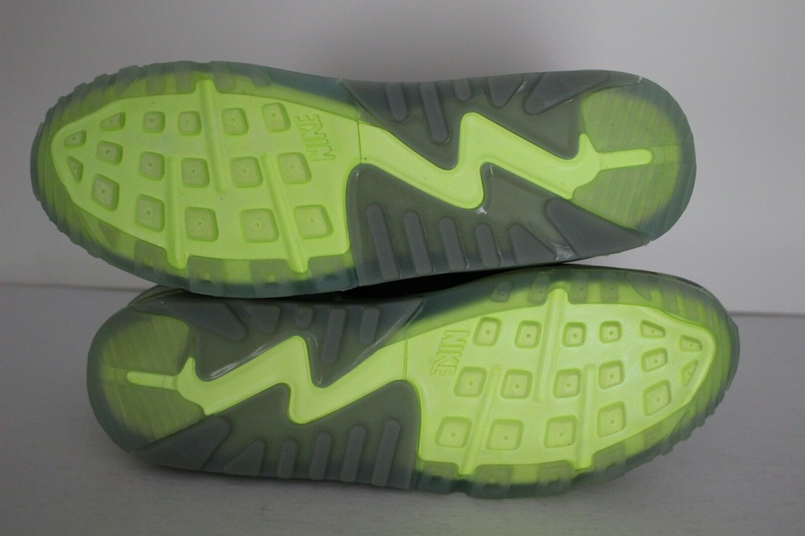 Nike Air Max 90 Ice Pack Mens Running Shoes VoltMica GreenBlack 631748 700