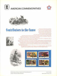 46-8c-18c-Contributors-the-Cause-1559-1562-USPS-Commemorative-Stamp-Panel