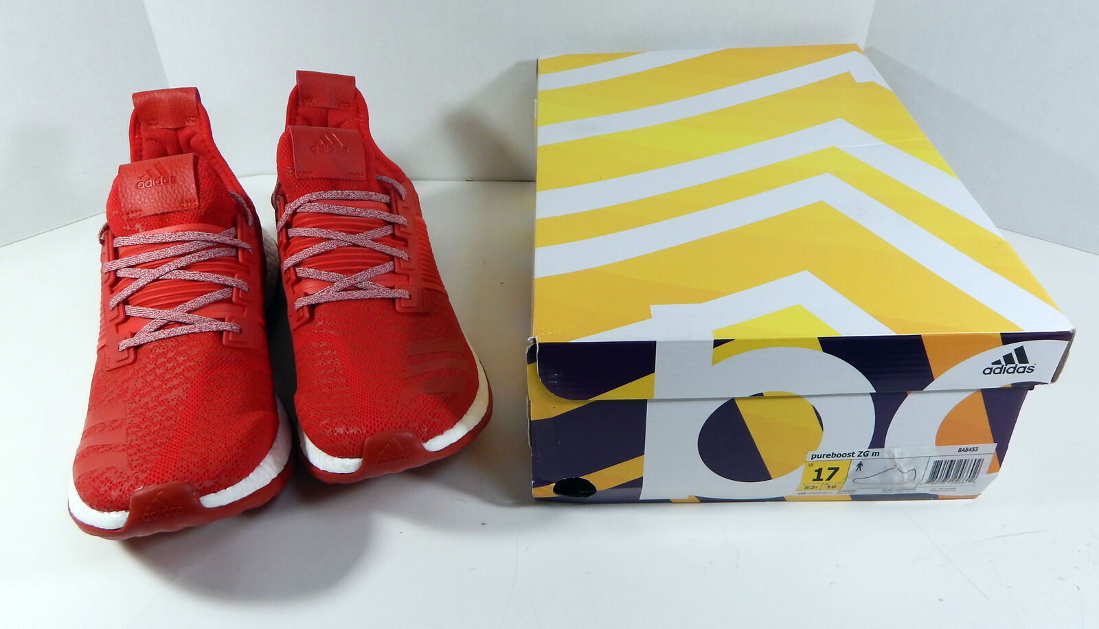 Adidas Pureboost ZG M Red Uni Of Louisville Size 16 Running shoes DP00176