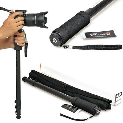 "67"" DSLR SLR Camera Camcorder Video Monopod Walking Stick For Ball Head Tripod"