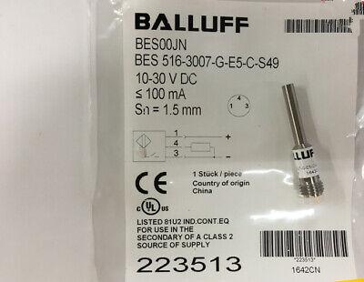 1PC NEW Balluff BES 516-3006-G-E5-C-S49 Proximity Switch Sensor