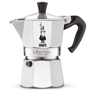 BIALETTI-Moka-Express-1-tazza-Caffettiera-Mokka-Coffee-Maker-Miniexpress